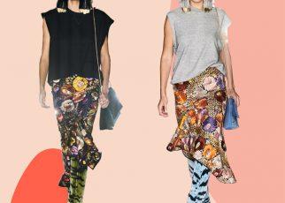 Họa tiết hoa: Điểm nhấn sành điệu cho những bộ đồ mùa thu đông