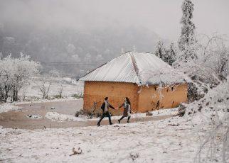 Say lòng trước 'ngôi làng Bắc Âu' Hà Nhì Y Tý phủ đầy tuyết trắng